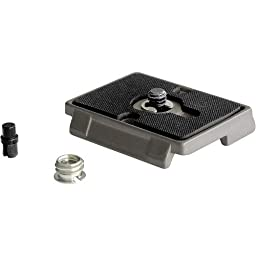 Manfrotto 200PL-14 RC2 Rapid Connect Mounting Plate with 1/4-Inch 20 Screw - Gray
