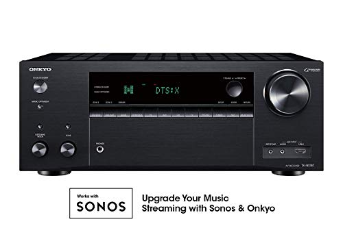Onkyo TX-NR787 THX Certified 9.2-Channel Network A/V Receiver (Best 9.1 Av Receiver)