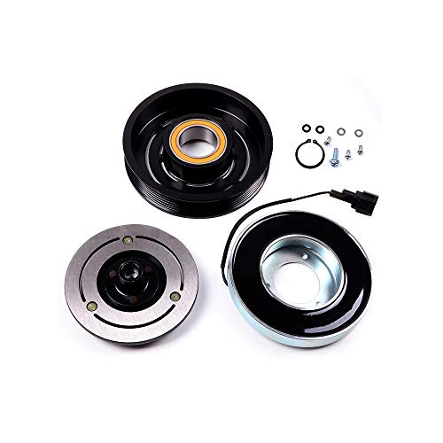 SCITOO Compatible with AC Compressor Clutches Repair Set CO 10874JC Auto Compressor Clutch Assembly Kit for Nissan Maxima Altima 2002 2003 2004 2005 2006 -