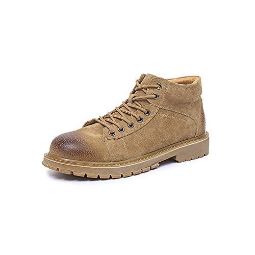LOVDRAM Stiefel Männer Martin Stiefel Mode Herren Herbst Und Winter Mode Stiefel Hohe Lederstiefel Leder Mode Schuhe 98f155