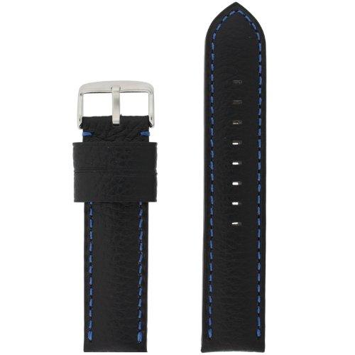 Watch Black Leather Stitching Padded product image