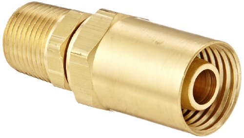 Dixon Valve BN44RU87 Reusable Brass Fitting, 1/2