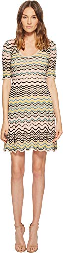 M Missoni Women's Wave Ripple Knit Dress Nude 48 for sale  Delivered anywhere in USA