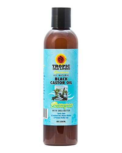 Tropic Isle Jamaican Black Castor Oil Shampoo, 8 Ounce (Fusion Olive Oil)