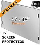 47 - 48 inch Vizomax TV Screen Protector for LCD, LED & Plasma HDTV