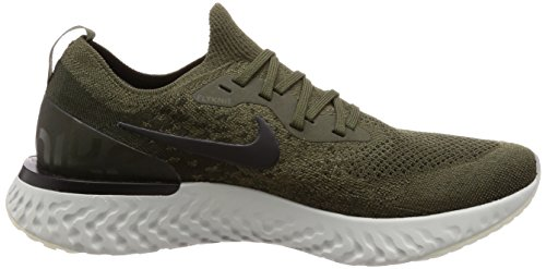 Competition Men Shoes Black NIKE Running React 's Cargo Flyknit sequoia Epic Khaki XRB7q