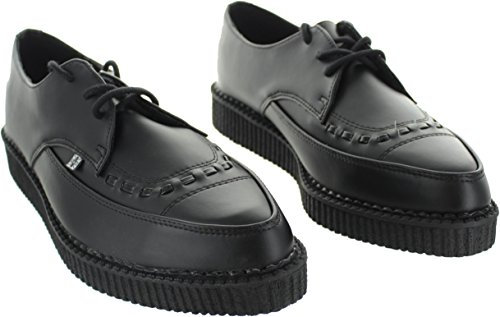 K Vegano Tukskin Nero Creeper Puntato Nero U Pizzo T Shoes 4qgB5B