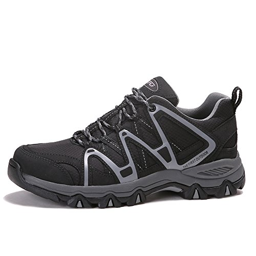 The First Outdoor Mens Lightweight First-Tex Waterproof Hiking Running Shoes