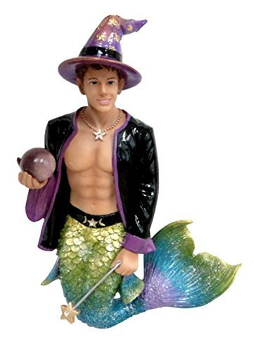 December Diamonds Wiz Magic Wizard Merman Christmas Ornament Decoration 5590858