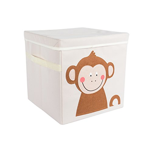 DII Nursery Storage Bin for Toys, Clothing, Books, Cube Organizers ((13 x 13 x 13