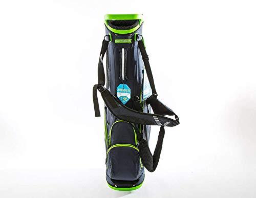 Datrek Golf Trekker Ultra Lite Stand Bag (Navy/Lime)