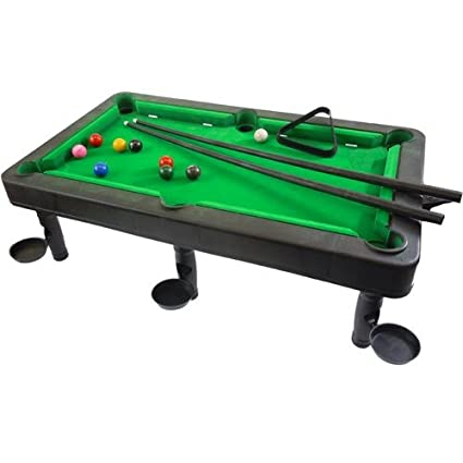 Amazoncom One Complete Mini Tabletop Pool Table Set Toys Games - Pool table scorekeeper