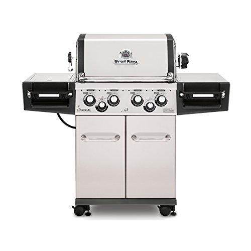 Broil King Regal S490 Pro- Stainless Steel - 4 Burner Propane Gas Grill (Regal Stainless)