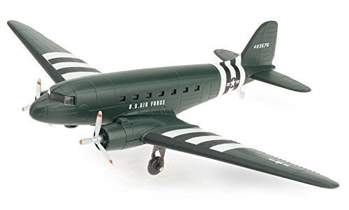 Douglas DC-3 Model Plane Kit (Assembly Required)