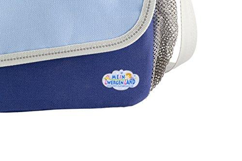 Bolsa para guardería Happy Knirps Bolso de bandolera con propio Nombre & Motivo - Rosa Azul