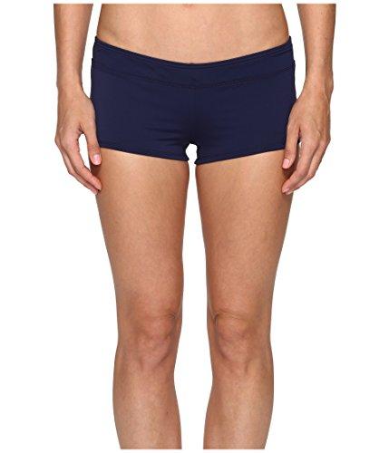 Tommy Bahama Women's Pearl Boyshort Bikini Bottom Mare Navy Swimsuit Bottoms