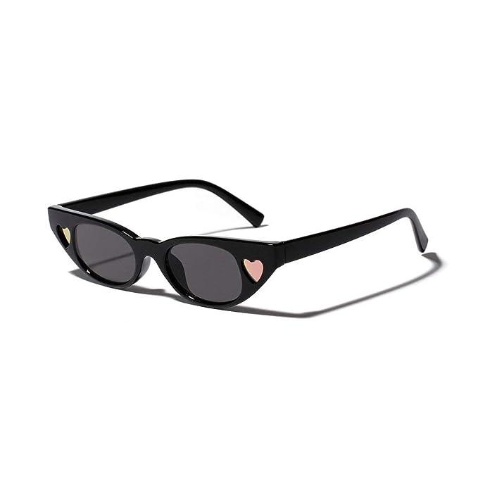 Amazon.com: 2019 Gafas de sol para mujer, diseño de gato de ...