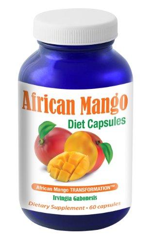 African Mango Transformation™ capsules   1200mg formula including Acai, Hoodia, Green Tea, Resveratrol   60 capsules