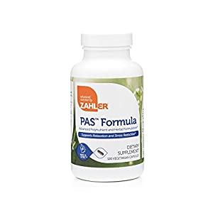 41U9pGgKnML. SS300  - Zahlers PAS Formula, Panic attacks Anxiety and Stress Relief, Anti-Anxiety Formula with GABA, Certified Kosher, 120 Vegetarian Capsules