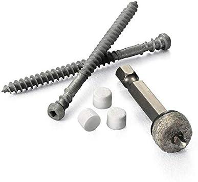 FastenMaster Cortex 75-Count Self-Drilling Concealed Screw PVC Trim Fasteners