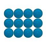 Velocity Lacrosse Balls: 12 Balls Light Blue