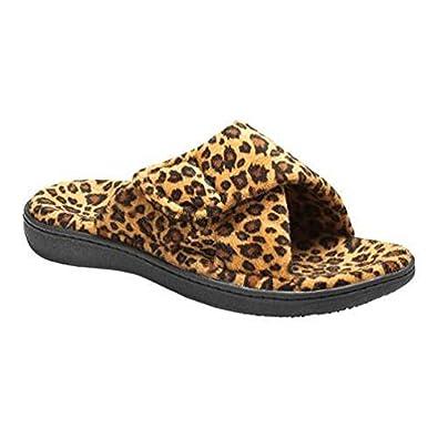 fe13b4dd893f Vionic Orthotic Relax Slippers - Tan Leopard - UK 8: Amazon.co.uk: Shoes &  Bags
