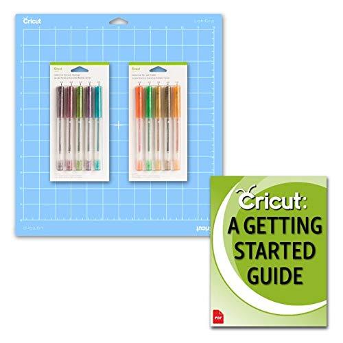 Cricut Glitter Gel Pens and Mat Bundle