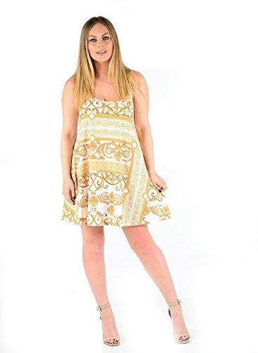Kleid gold und weib