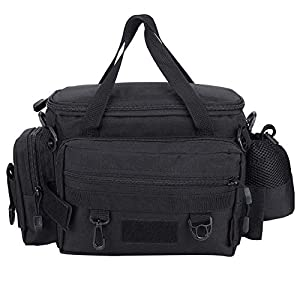 Lure Fishing Tackle Bag with Adjustable Belt
