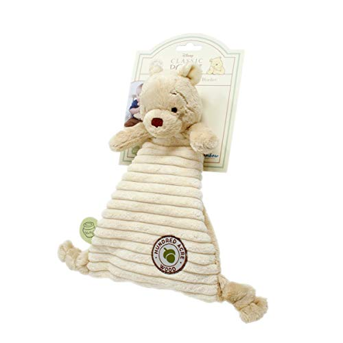 Winnie The Pooh Comfort Blanket Hundred Acre Wood Collection For Baby