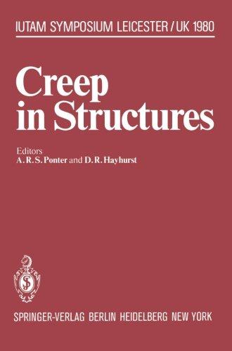Creep in Structures: 3rd Symposium, Leicester, UK, September 8-12, 1980 (IUTAM Symposia)