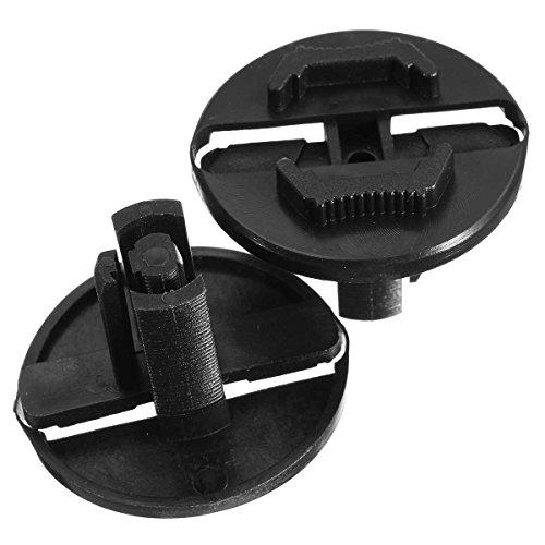 Interior Accessories 2 Pcs Black Headlight Fastener Clip for Mercedes/Benz W124 300Ce 300Te E420 E320 E300 E500 260E 300E 400E 500E 300D