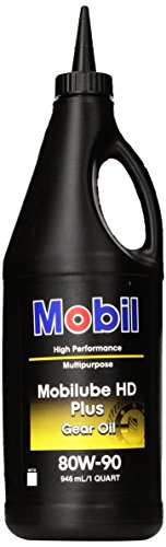Mobilube HD Plus 80w90, Gear Oil, 1 qt. - Gear Oil Viscosity