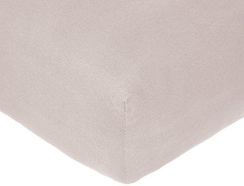 Pinzon 300 Thread Count Organic Cotton Crib Sheet - Dove Grey