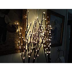 The Light Garden WLWB96 Electric/Corded Willow Branch with 96 Incandescent Lights, 40 Inch
