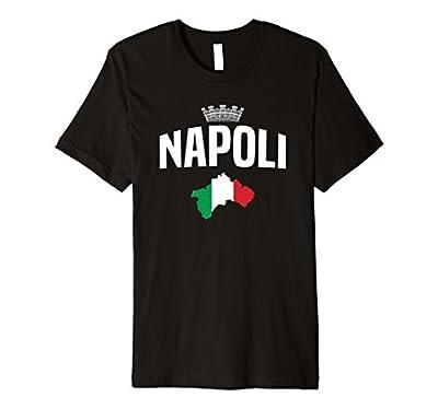 Napoli Jersey Naples Italy Flag Tee Shirt - Souvenir Clothes