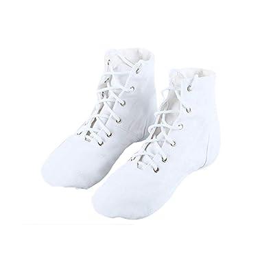Baile Cuero Soles Y Danza Alta Zapatos es Zapatillas De Entrenamiento Jazz Amazon Ocio Ballet Mujer Ayuda Moderno gCPTtn7