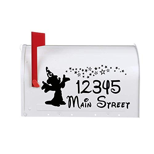 Sorcerer Mouse Vinyl Decal Stickers for Mailbox ()
