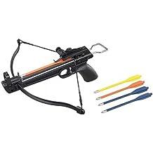 Tactical Crusader Hand Held Hunting Archery 50LB Pistol Crossbow Gun