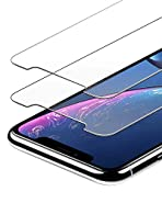 Anker GlassGuard Screen Protector for iPhone XR 2018 with Alignment Frame for Easy, Bubble-Free Installation and Double Defence Tempered Glass [Case Friendly] [2-Pack]