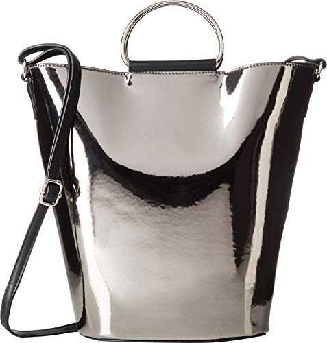 T-Shirt & Jeans N/s Ring Bucket Bag, Black
