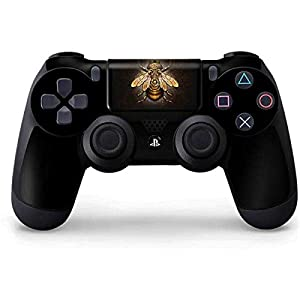 Skinit Decal Gaming Skin for PS4 Controller – Officially Licensed Tate and Co. Steampunk Bee Design