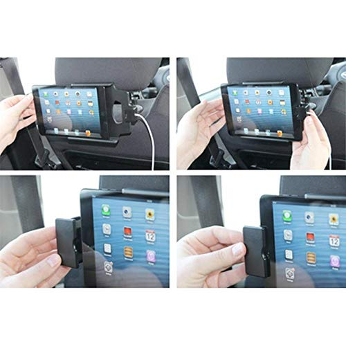 Brodit 514460 Soporte Tablet//UMPC, Coche, Negro, Apple iPad Mini, USB