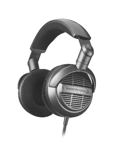 Beyerdynamic DTX 910 Stereo Headphones for Portable and Home usage (Silver Black) (Beyerdynamic Home Audio Headphones)