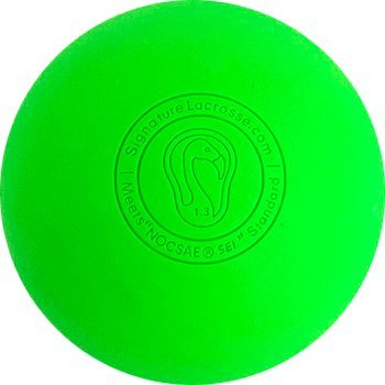 Signature Lacrosse Ball (12-Ball) 3 Green 3 Orange 3 Yellow 3 Pink NOCSAE & SEI Approved