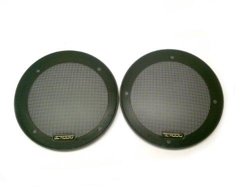 "5 1/4"" Inch 2-Piece Mesh Speaker Grill Black"