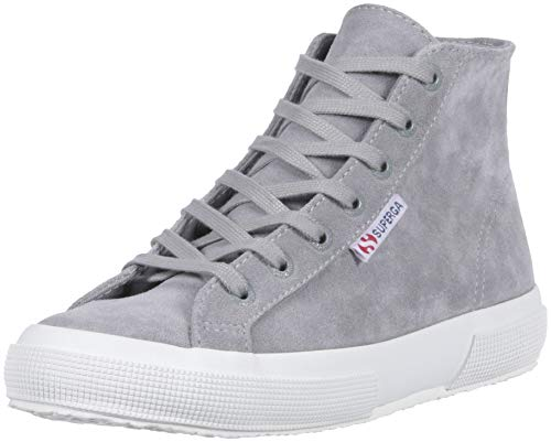 Superga Women 2795 Suecotlinw Sneaker Grey Suede
