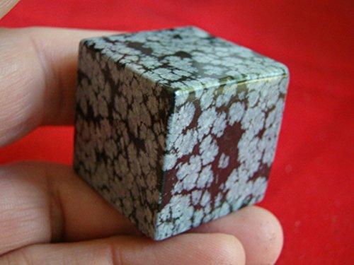 Flo0321 Snowflake Obsidian Cube