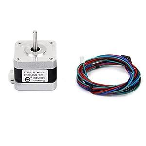 Nema 17 Motores De Impresora 3D Dos Fases 4 Hilos Motor De Pasos ...