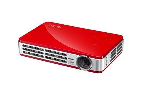 VIVITEK QUMI Q5-RD レッド 490g 高輝度500ルーメン LEDモバイルプロジェクター WXGA(1280x800) HD720P DLP Wi-Fiワイヤレス接続対応 Q5-RD B009QU5RGC  レッド
